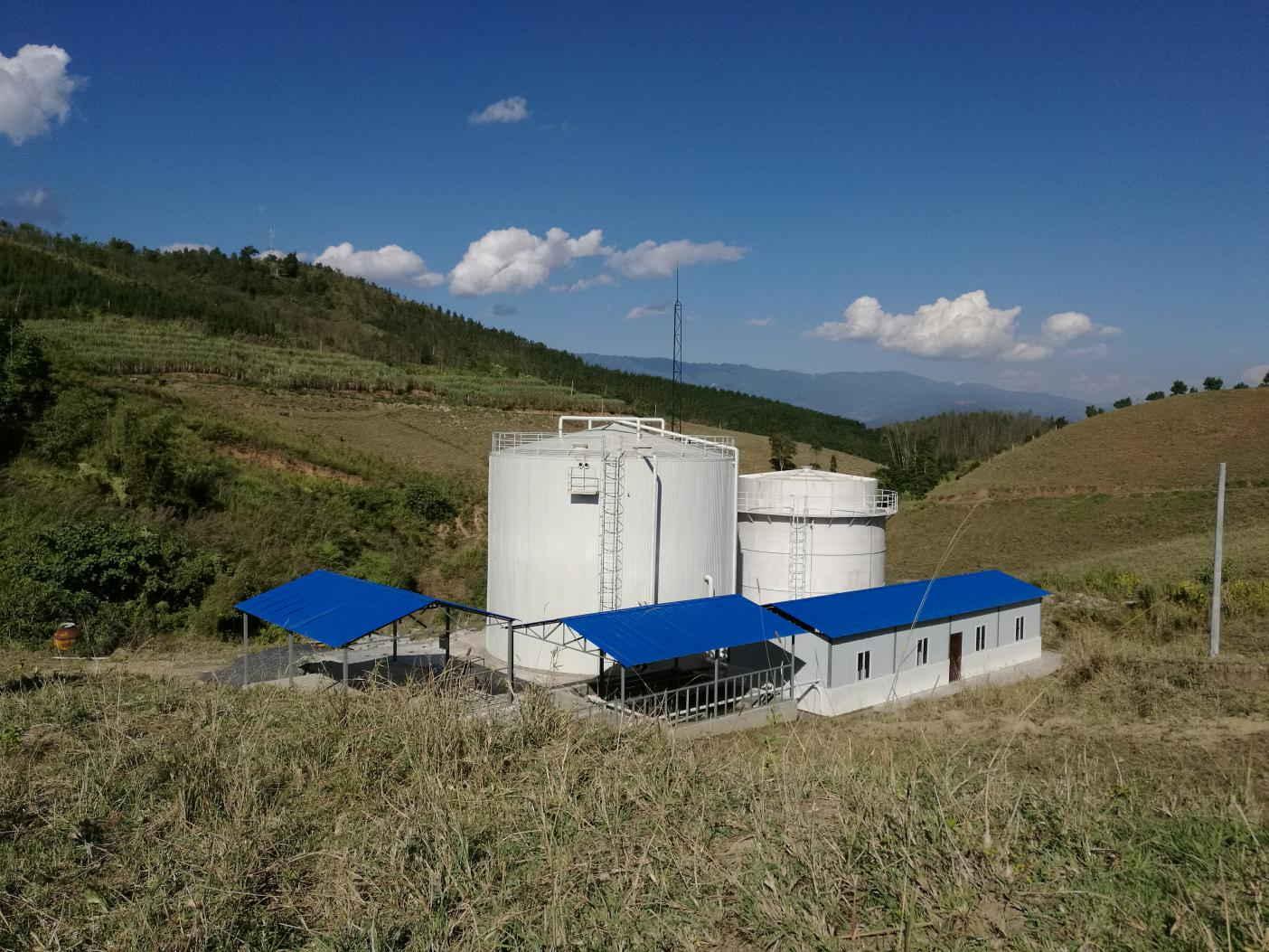 云南德宏州彩云琵琶食品有限公司大中型沼气工程